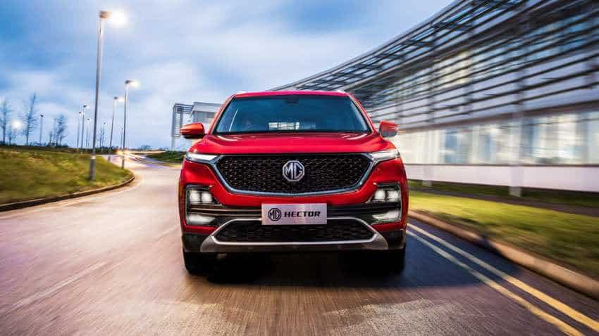 Long wait ends! SUV MG Hector unveiled - Check pics, top features of India's 1st internet car