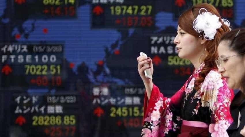 Global stock markets: Asian shares near seven-month highs