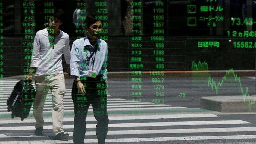 Asian shares near eight-month highs, U.S.-China talks in view