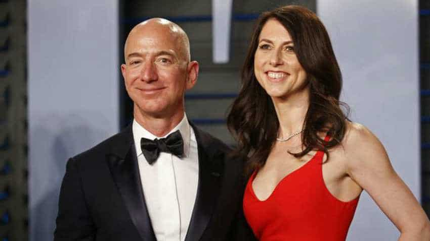 Jeff Bezos divorce: MacKenzie to get $36 bn stake in Amazon, become world's third wealthiest woman