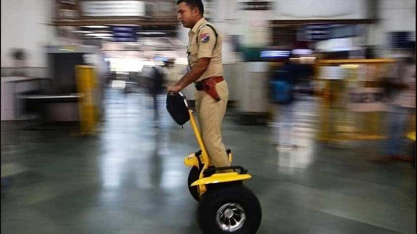 Indian Railways empowers RPF personnel with electric Segway scooters