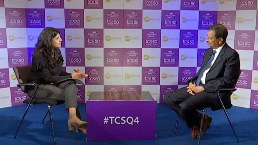 Almost every division of TCS is posting double-digit growth: Ajoyendra Mukherjee