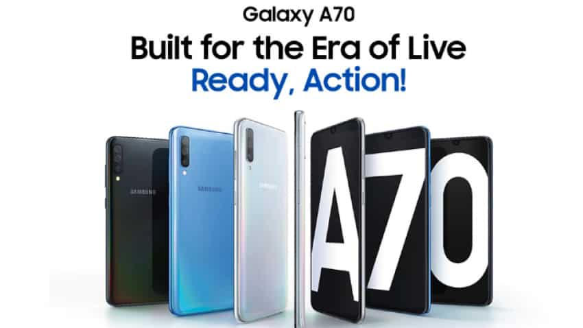 Samsung to launch Galaxy A70 in India next week: Here is how much it will cost you