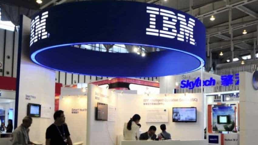 IBM quarterly revenue misses on weak mainframe computer business