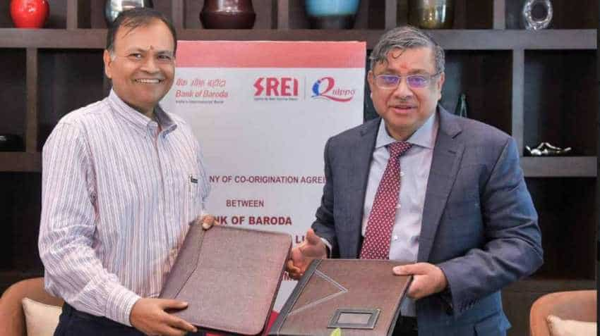 Srei Equipment Finance, Bank of Baroda to co-lend through iQuippo platform