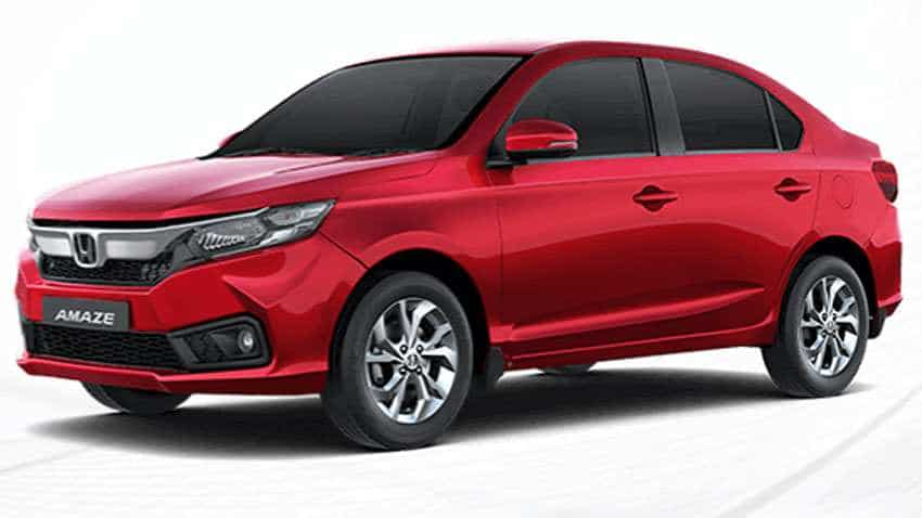 Honda Amaze: New VX CVT variant launched - Petrol variant priced at Rs 8.56 lakh, diesel trim at Rs 9.56 lakh