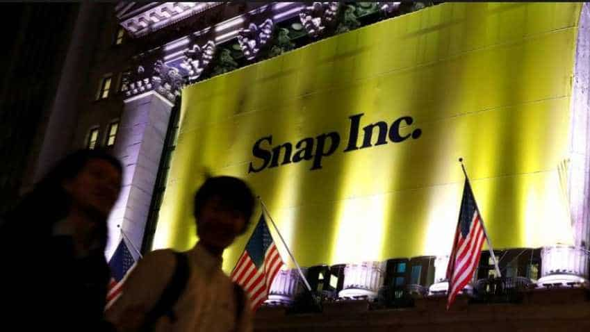 Snap returns to user growth on new shows, Android app; shares jump