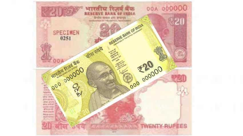 Rs 20 new note coming in Greenish Yellow colour with Ellora Caves as motif; check photo, features