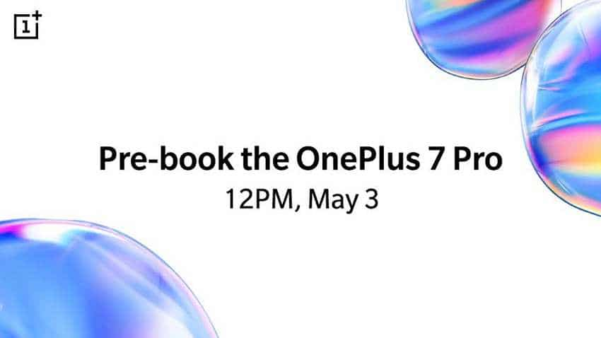 OnePlus 7 Pro pre-booking to start today: Here is what we know about this flagship so far