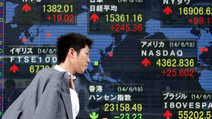 Asia shares linger near five-week low amid renewed US-China trade jitters
