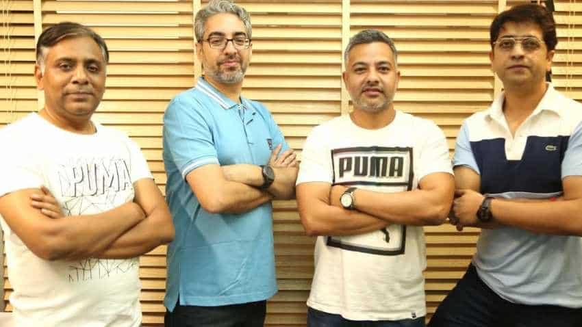 CollegeDekho team of founders.