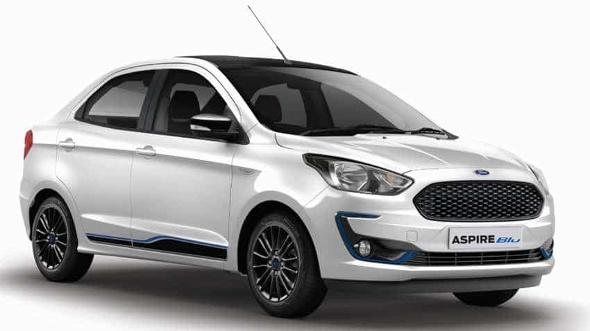 Ford Aspire Special Blu Edition launched - Check price, variants, features, shades, and more