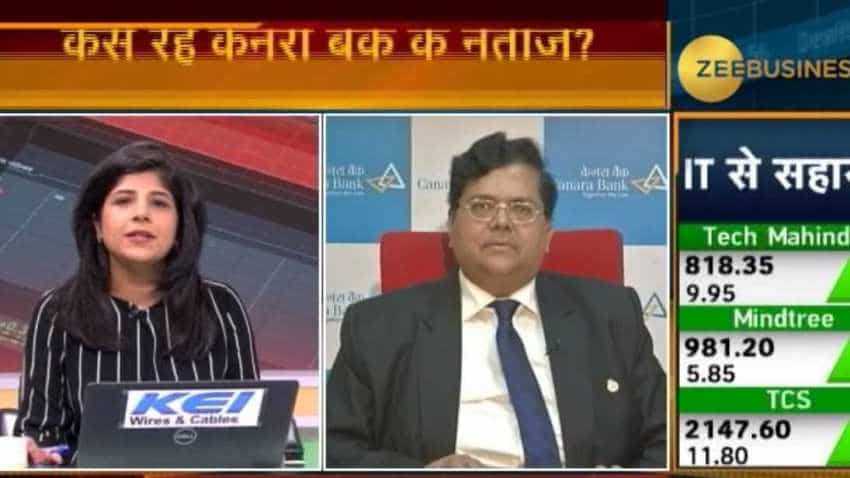 Canara Bank is Doing Well and will make sure that quality growth is maintained in all segments of banking: RA Sankara Narayanan, MD & CEO