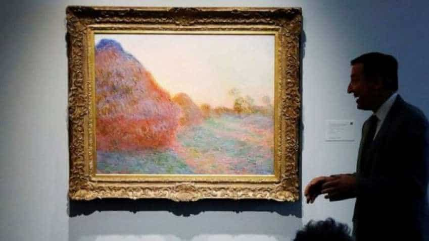 Claude Monet painting fetches record over $110 million at auction