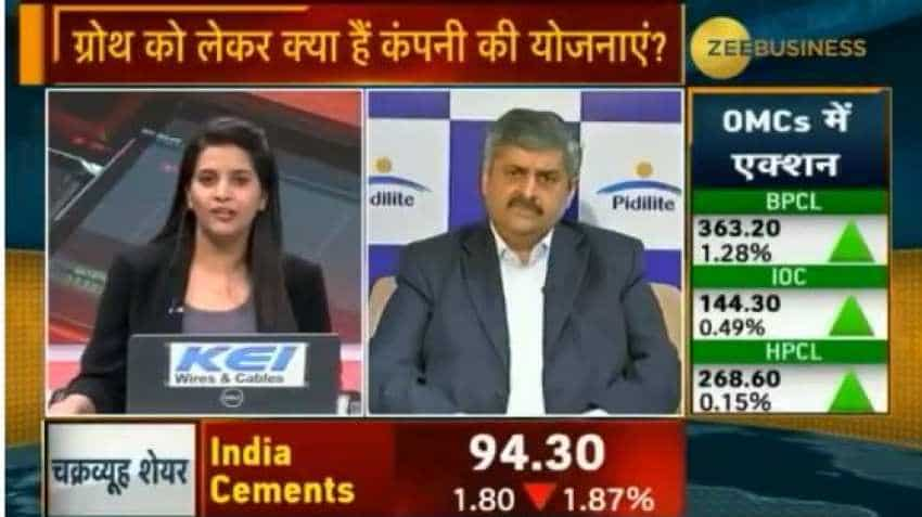 Volume growth is very healthy: Pidilite Industries MD, Bharat Puri