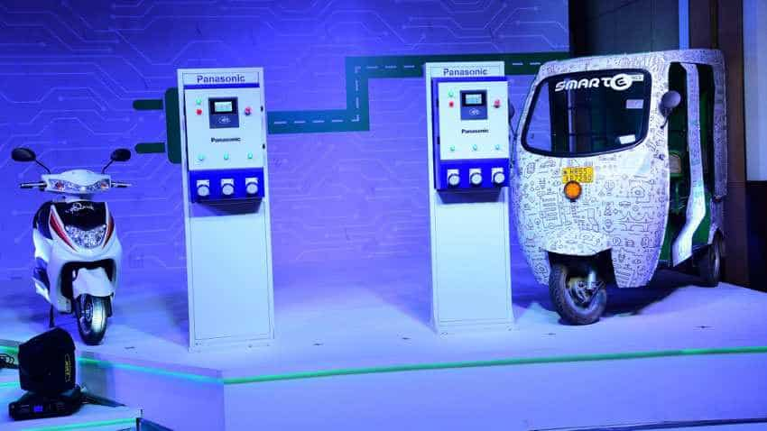 Nymbus: First-of-its-kind in India! Panasonic EV charging service