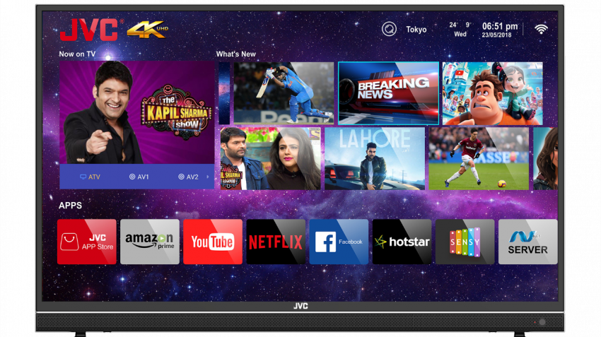 JVC launches Ultra HD 4K Smart LED TV priced at Rs 24,999