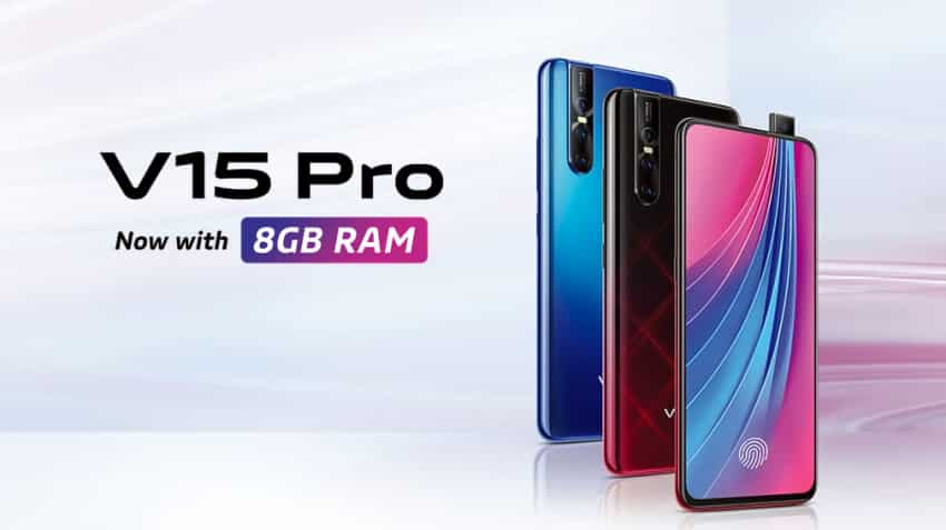 Vivo V15 Pro 8GB version launched in India, 6GB variant gets price cut