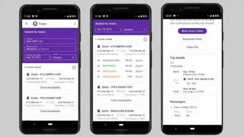 How to book Indian Railways tickets using Google Pay? Check these steps