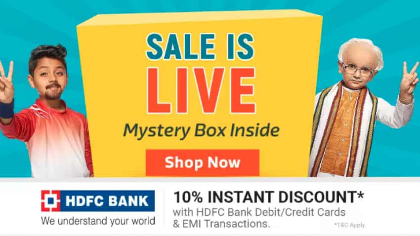 Save big with your HDFC Bank debit/credit card this Flipkart sale