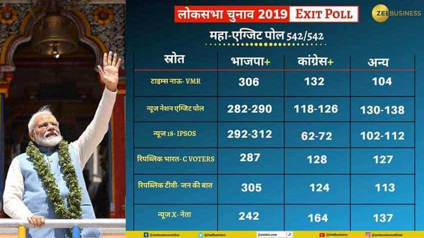 Exit Poll results 2019 highlights: Surveys predict win for BJP, NDA; PM Narendra Modi set to return to power