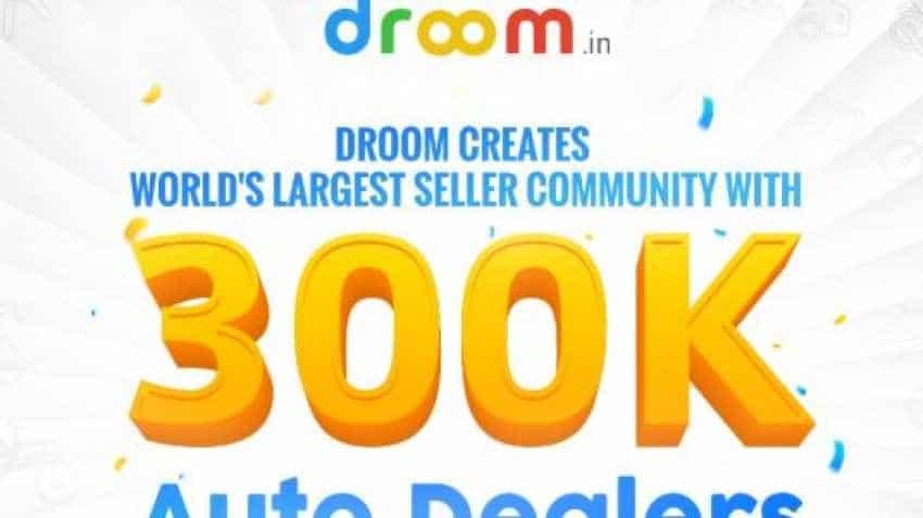 Record! Droom creates world's largest auto dealer community, crosses 300k-mark on its platform