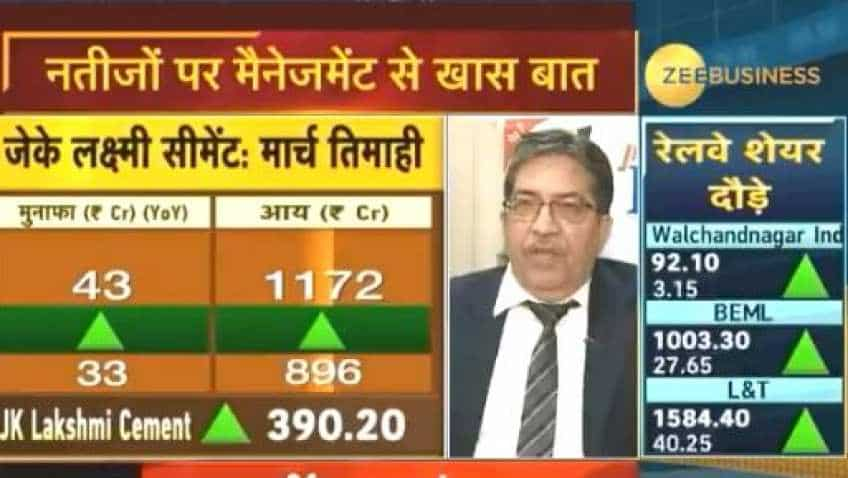 JK Lakshmi Cement Q4 volume grows 32%, annual sales up by 13%: Shailendra Chowksey
