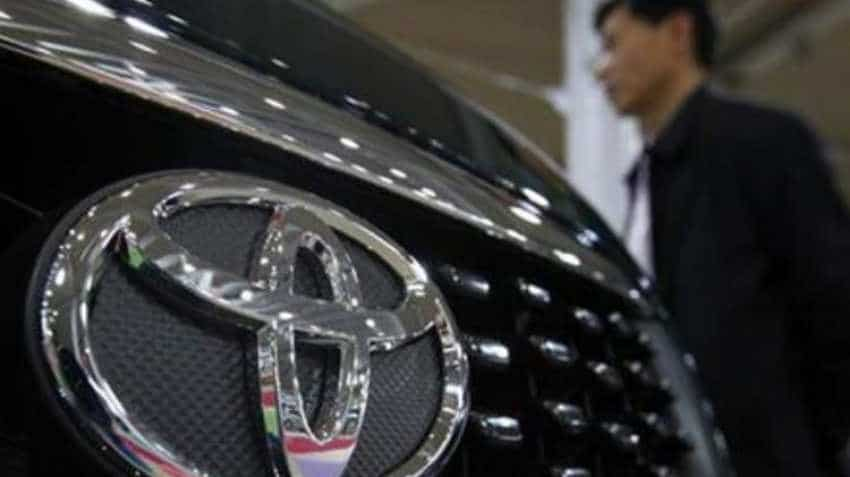 Toyota may invest about $550 million in China ride-hailing firm Didi
