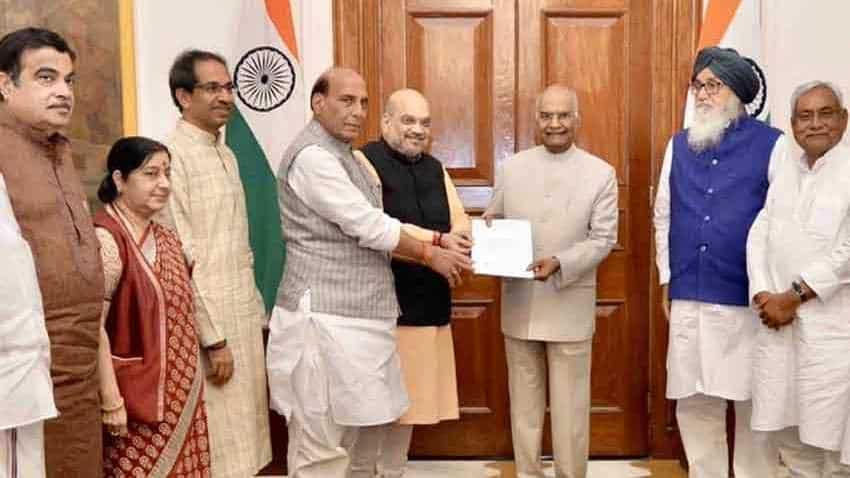 Narendra Modi cabinet: Ahead of swearing-in, senior BJP leaders meet Amit Shah