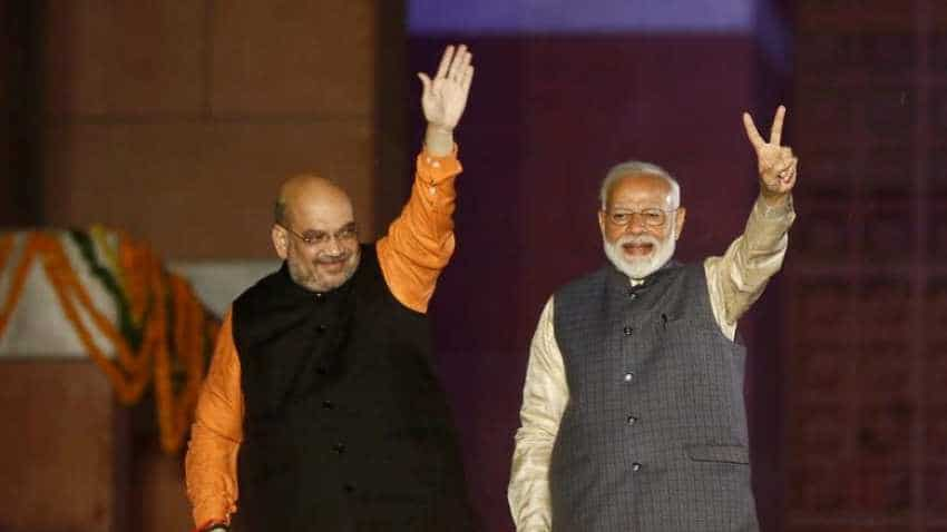 Narendra Modi cabinet: PM-elect meets Amit Shah ahead of government formation