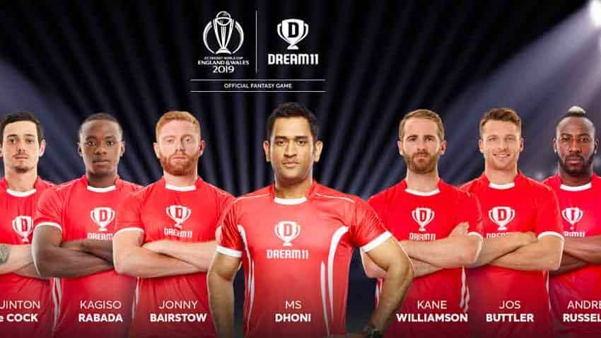 Dream11 signs 9 international cricketers including Jos Buttler, Andre Russell for ICC World Cup 2019