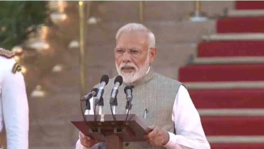 Narendra Modi swearing-in ceremony Highlights: New-look Team Modi takes oath; Amit Shah, S Jaishankar among surprise names