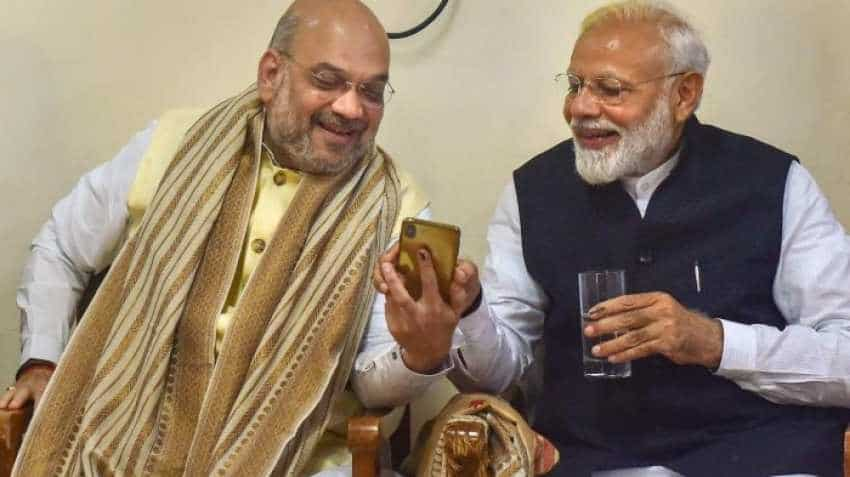 Modi cabinet swearing-in: Amit Shah takes oath as Cabinet minister, all set to deliver on governance agenda