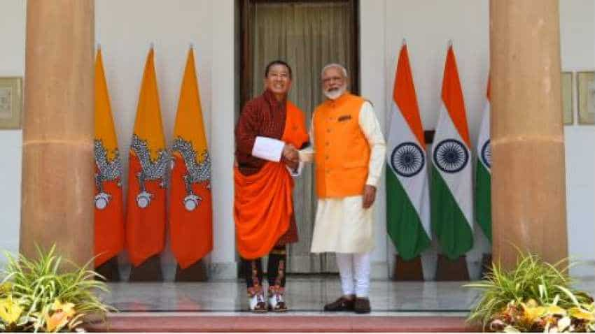 PM Modi holds talks with Bhutanese counterpart Tshering, discusses development partnership, other issues