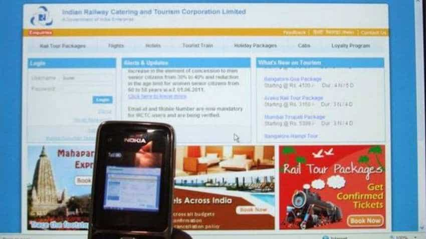 IRCTC Rail Connect App: Booking train ticket on mobile