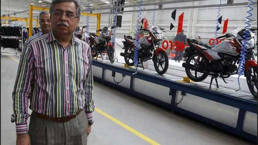Hero MotoCorp shares jump 5.5 pc after May sales data