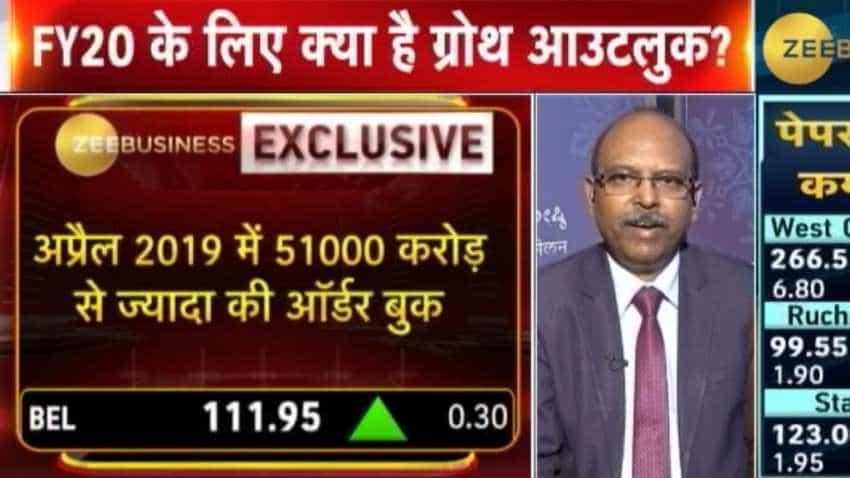 BEL's order book stood at Rs 51,000 crores on April 1: MV Gautama, CMD