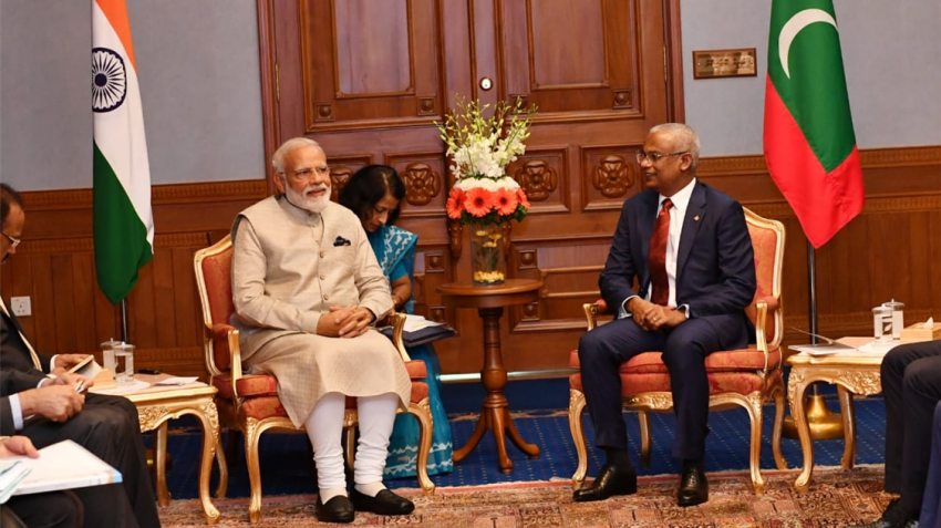 India, Maldives ink 6 pacts to strengthen bilateral co-operation in defence, maritime security