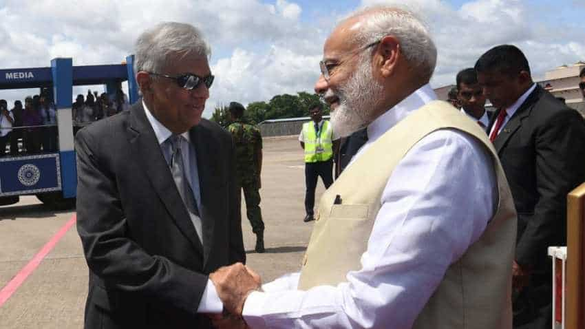PM Modi arrives in Sri Lanka on second leg of his first foreign visit