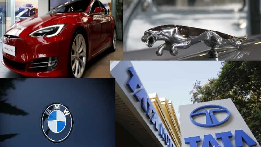 Has Tesla got a new rival? Luxury carmakers BMW, JLR join hands for EVs - Should you buy Tata Motors share?