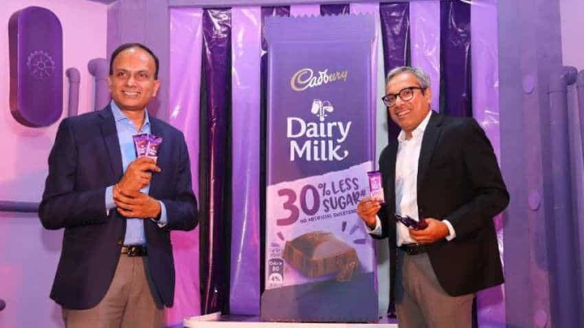 Cadbury Dairy Milk chocolate with 30% less sugar launched in India