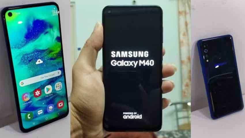 Samsung Galaxy M40 first impression: Impressive camera, decent processor, value for money