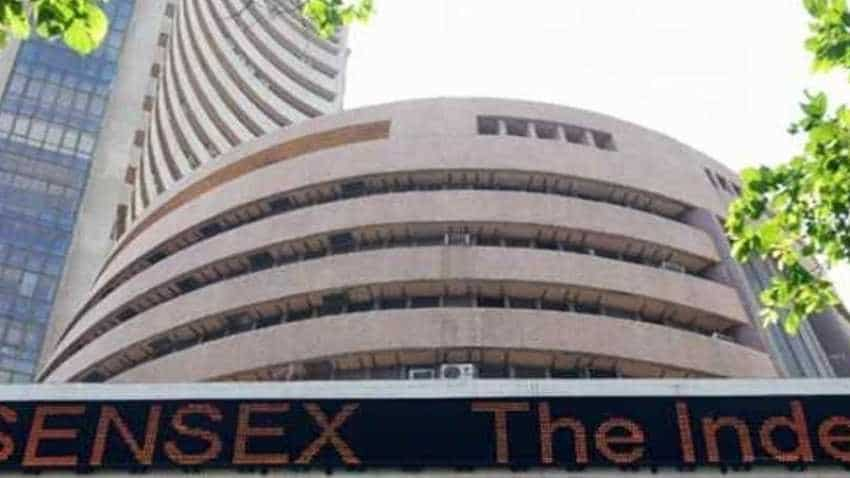 Sensex, Nifty down on Trump's tilt towards China; Manpasand Beverage, Reliance Capital stocks bleed