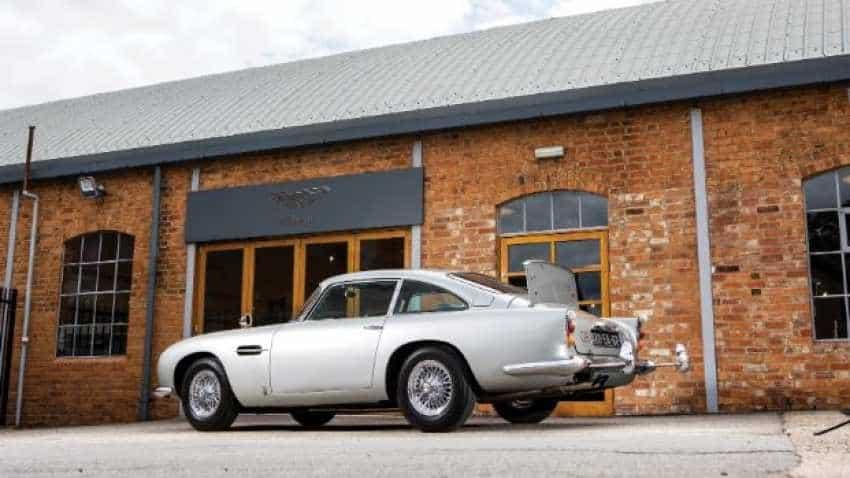 Aston Martin built for James Bond heading to auction