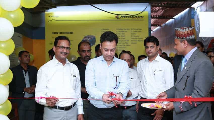 International presence! JK Tyre's opens first Retread Centre in this country, to open 100 centres by 2020