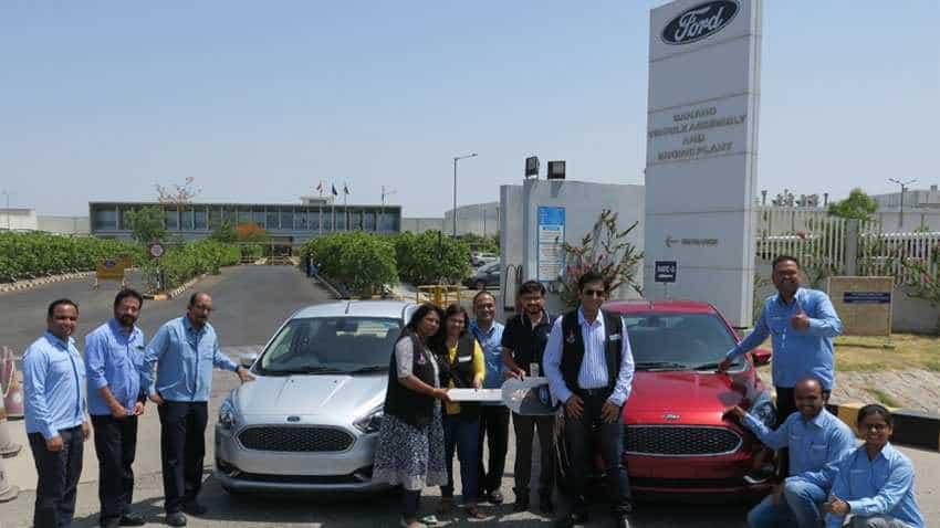 Empowering women! Ford India donates Ford Figo, Ford Aspire to Neeva Foundation