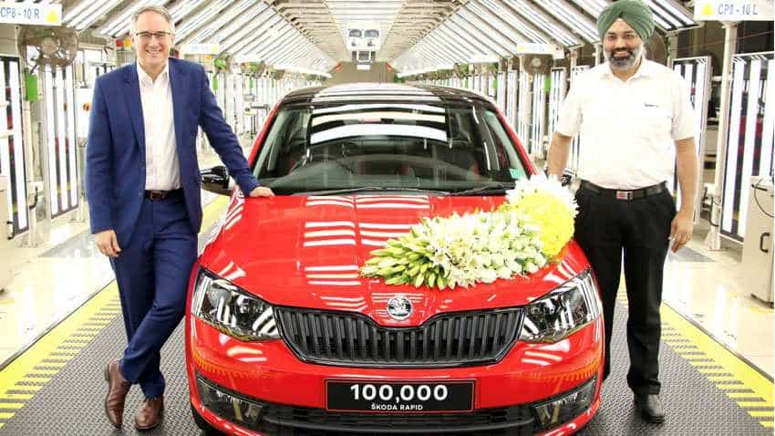 Skoda India rolls out 100,000th RAPID; milestone vehicle is Monte Carlo - How it was made? WATCH