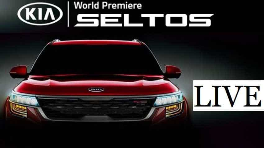 KIA SELTOS  Launch LIVE: Catch World Premiere - WATCH Latest Updates of Unveiling of This SUV