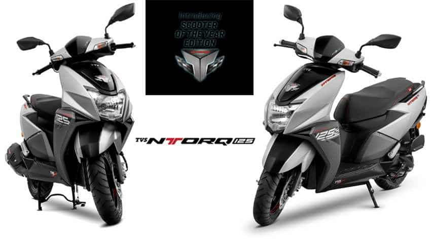 TVS NTORQ 125 is now available in Matte Silver colour option too - This is how 'Scooter of the Year' looks - SEE PICS