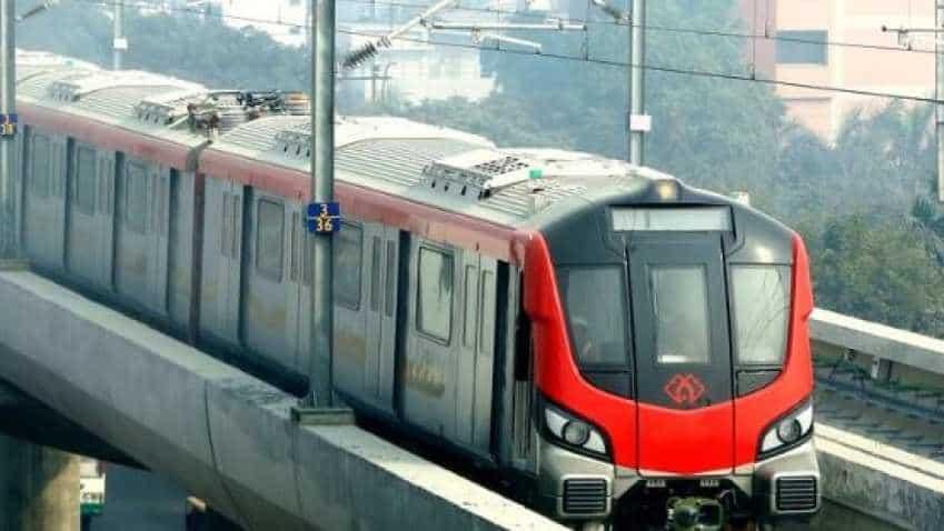 Lucknow metro ridership reaches to 1.11 crore